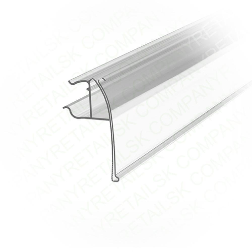 Ценникодержатель для полок из металлических прутьев