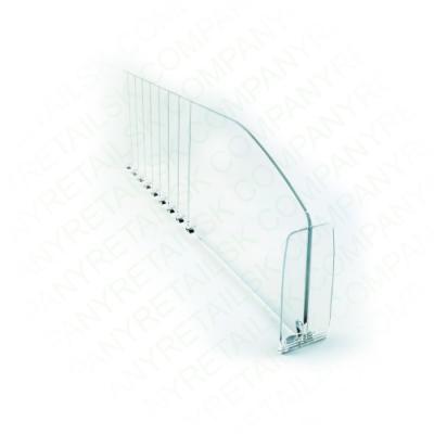 T-образный Разделитель для полок с ограничителем, высотой 120мм