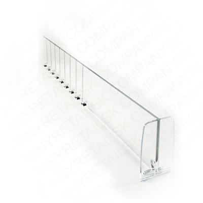T-образный Разделитель для полок с ограничителем, высотой 60мм