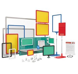 Пластиковые рамки, кассеты цен и аксессуары
