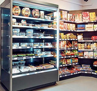 Ценникодержатели на холодильное оборудование