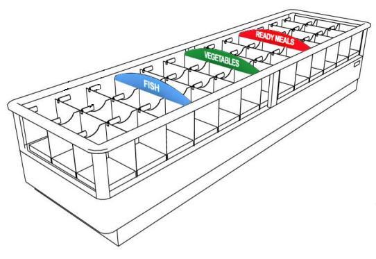 Бонета с установленой системой Матрикс Retailsk